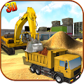 Download Android Game Heavy Excavator Crane Sim for Samsung