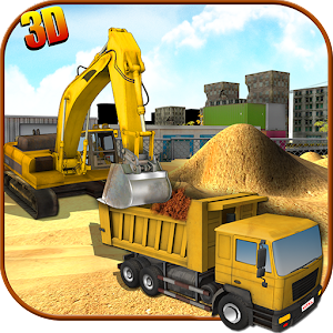 Cover art Heavy Excavator Crane Sim