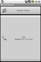 Screenshot of Big Call Button