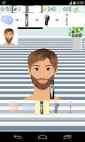 Screenshot of beard salon games