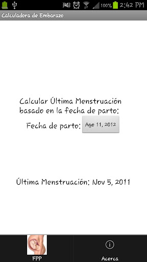 【免費醫療App】Calculadora de embarazo-APP點子