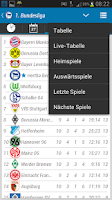 Screenshot of Hertha Berlin BSC App