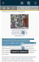 Screenshot of Translate in web