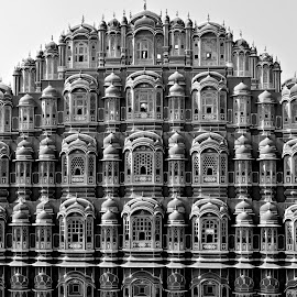 Hawa Mahal at Jaipur by Subal Soral - Buildings & Architecture Statues & Monuments ( hawamahal, jaipur, rajasthan,  )