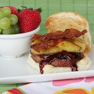 Pineapple Bacon Burgers