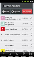 Screenshot of FahrInfo Konstanz