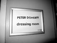 pete's dressing room