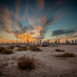 by Gabriel John Rimando - Landscapes Cloud Formations