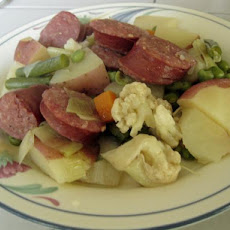 Finnish Bologna & Vegetable Casserole