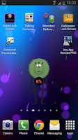 Screenshot of Monsters Battery Widget