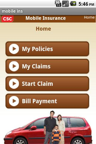 CSC's Mobile Insurance