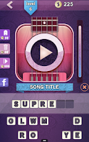 Screenshot of Icon Pop Song Guitar