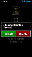 Screenshot of Tappsi Taxista