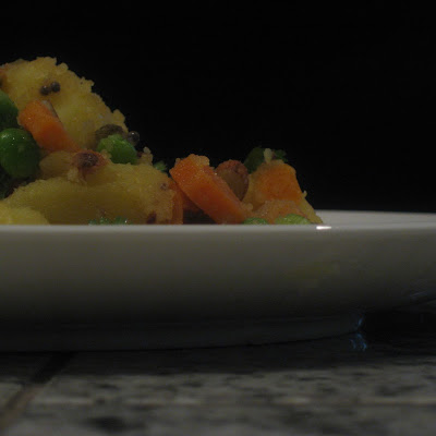 Indian-spiced Potato Salad