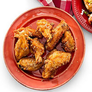 Sizzling Sesame Wings