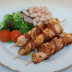 Chicken & Chorizo Skewers