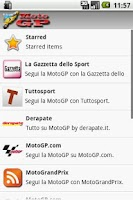 Screenshot of Moto GP News