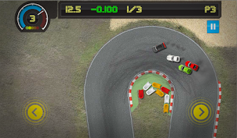 Screenshot of Pocket Racing 2
