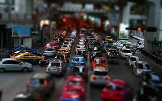 Screenshot of Traffic Pulse Live Wallpaper