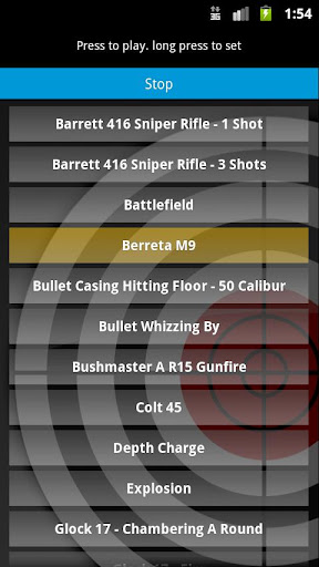 Gunshot Sounds FX Ringtones