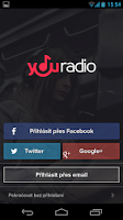 Screenshot of Youradio