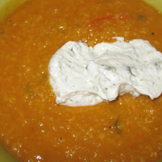 Turkish Red Lentil Soup (Kirmizi Mercimek Çorbasi)