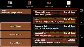 Screenshot of Virtual Turntable