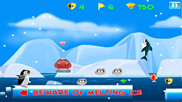 Screenshot of Run Kelvin - Penguin Run