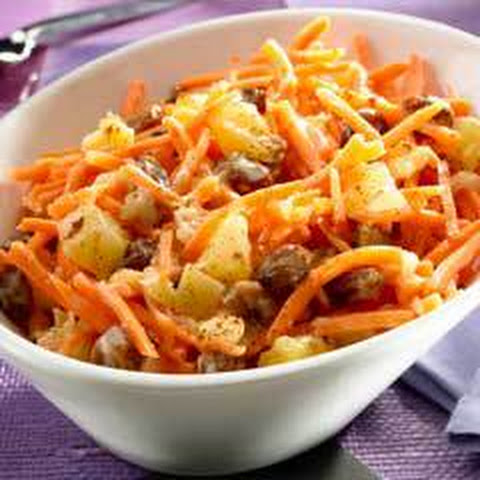 Tropical Pineapple-carrot Salad