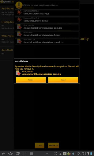 【免費商業App】Symantec Mobile Security Agent-APP點子