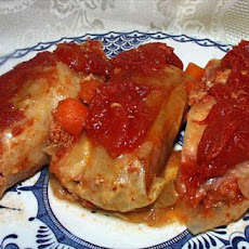 Sweet 'n Sour Stuffed Cabbage Rolls (
