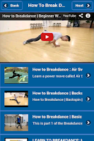 Screenshot of How To Break Dance