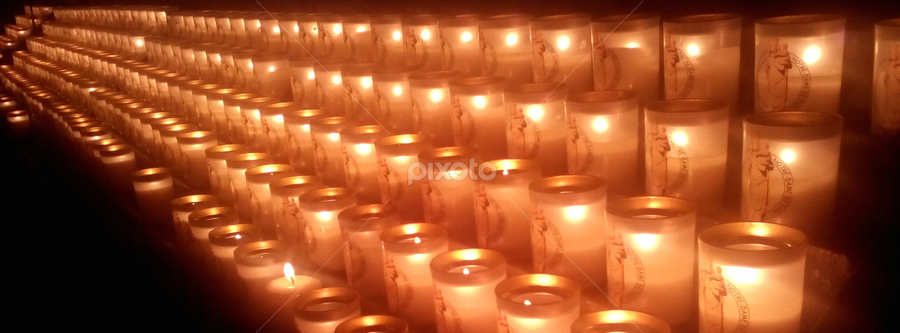 Notre Dame de Paris Candles by Brianne Cronenwett - Instagram & Mobile Android ( platform, candle, paris, catholic, notre dame, candles, cathedral, glow, row,  )