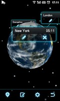 Screenshot of Next Clock Widget