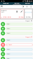 Screenshot of Time Tracker - Timesheet