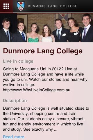 【免費教育App】Dunmore Lang College-APP點子