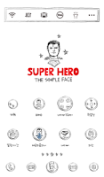 Screenshot of Hero simple face dodol theme
