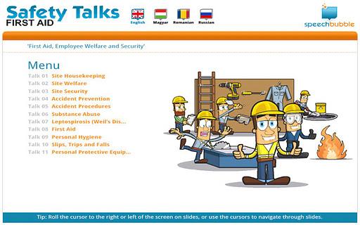 Safety Talks - FA Hungarian