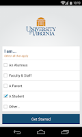 Screenshot of University of Virginia (UVA)