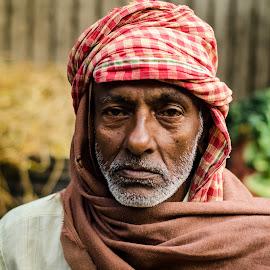 Shahid by Prasanta Das - People Portraits of Men ( rickshaw puller, portrait )