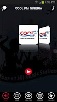 Screenshot of Cool FM Nigeria
