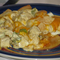 Hot Savannah Chicken Salad Casserole (Paula Deen)