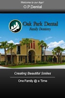 Screenshot of Oak Park Dental