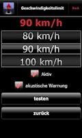 Screenshot of Simple Tacho deutsch