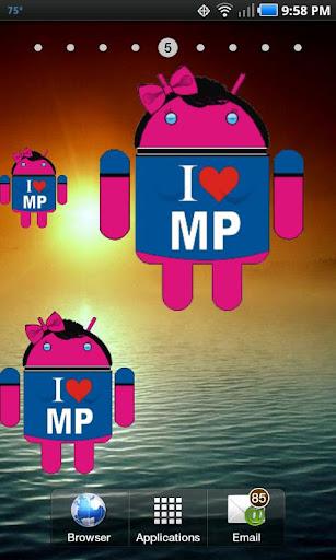 Droid I Love MP doo-dad
