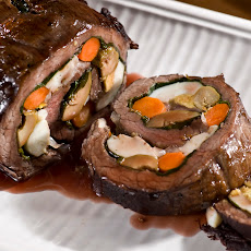 Argentine Stuffed Flank Steak: Matambre