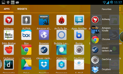App Bubble Launcher XDA (FREE) apk for kindle fire