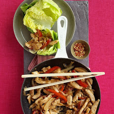 Chicken Stir-Fry Wraps