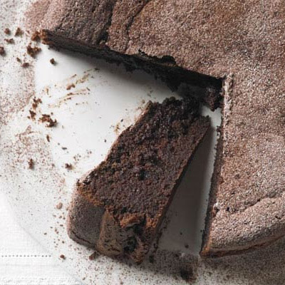 Chocolate & Earl Grey torte