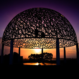 Geraldton Memorial by Stuart Lilley - Buildings & Architecture Statues & Monuments ( memorial, sunset, australia, monument, geraldton,  )